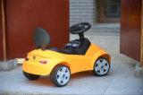 Véhicule électrique jaune de BMW, véhicule électrique de gosses