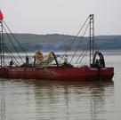 Absaugung-Träger-Lastkahn-Selbstabsaugung-und Einleitung-Lastkahn des Sand-150t
