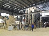 MDF produciendo la maquinaria