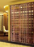 Écrans d'acier inoxydable de couleur de coupure de laser pour des projets architecturaux de luxe