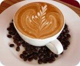 Nicht Molkereirahmtopf als Kaffee-Weißkocher
