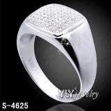 Jóia da forma do anel do homem da prata 925 esterlina (S-4625, S-4853, S-4604BW, S-4712, S-4721, S-4897)