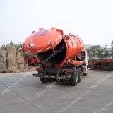Sinotruk HOWO 4X2 Camión succionador de aguas residuales