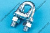 Acessórios de corda de arame DIN741 / High Quality Electro-Galvanized Steel Wire Rope Clip