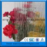 Prezzo glassato decorativo di vetro Tempered di sicurezza per la parete dell'acquazzone