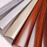 Profil en bois de polissage d'aluminium de profil de porte de guichet en aluminium de construction des graines