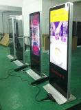 10、12、13、15、17、19、22、32、42、43、49、50、55、65、75のプレーヤー、デジタル表記、LCD表示を広告する立つ85インチの床