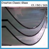319mm Duidelijk Gebogen Gehard glas voor de Bril van de Veiligheid