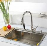Küche-Hahn mit Plattform-Platte ausziehen
