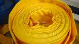 """3/4의 """" ~14의 """" PVC Layflat 호스/출력 호스에 의하여 놓이는 편평한 호스 제조자"""