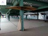 Vente chaude 9ft parapluie extérieur de demi de parapluie de 5 nervures de parapluie de jardin