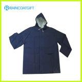 Rpp-026は耐久PVC/Polyesterの人のRainwearを防水する