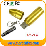 호화스러운 금 탄알 USB 섬광 드라이브 선물 (EM052)를 위한 금속 펜 드라이브