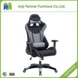 Cadeira de couro do Recliner do jogo do jogo do plutônio do cinza popular barato do preço (Lichee)