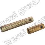 Socket de elevación de acero de la cuerda de rosca Herringbone en los accesorios del concreto de prefabricación (M20X200)