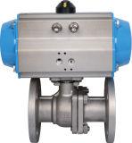 압축 공기를 넣은 플랜지 공 벨브 (HAT-100D)