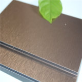 광저우 Factory에 있는 4mm Brushed Aluminum Composite Panel ACP
