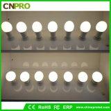 5000k 5W LED Birnen-Licht 110lm/W mit Plastiküberzogenem Aluminium