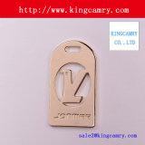 Logotipo do metal/placa do saco/logotipo de Hangbag/Tag da sapata/Tag da roupa/Tag do saco