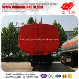 De Qilin de la marca de fábrica del petrolero acoplado semi para el transporte del aceite de cocina