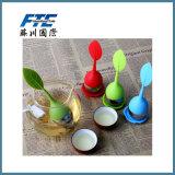 Preiswertes Silikon-grüner Tee Infuser Tee-Grobfilter