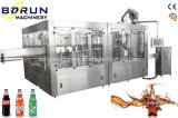 Soda Water Filling Packing Machine per Glass Bottle