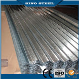 BuildingのためのZ60 Hot DIP Corrugated Galvanized Roofing Sheet