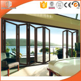 European Design Thermal Break Aluminium Sliding Folding Door