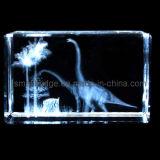 Dinosaurio cristalino 3D