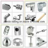 Montaggio della balaustra/supporto del tubo/parentesi quadrati registrabili del corrimano acciaio inossidabile
