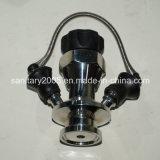 Fabricante asséptico sanitário Ss316L de Wenzhou da válvula da amostragem