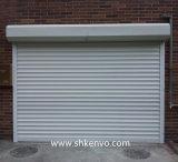Porte isolée de garage d'obturateur de roulement avec à télécommande