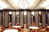 Paredes de divisória móveis de madeira Sound-Proof para o hotel