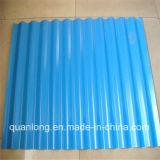 Feuille ondulée de toiture galvanisée par couleur