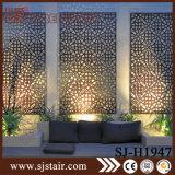 Écran en métal de maison de coupure de laser pour la décoration de salle de séjour (SJ-P023)