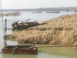 砂鉱山のための砂の掘削装置の吸引浚渫のボート