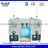 Petróleo Products Distillation Tester (Double Units) com LCD Screen