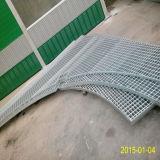 ISO de rejilla de acero galvanizada serrada especial de la aprobación