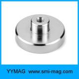 ねじ糸M3/M4/M6/M8のネオジムの鍋の磁石