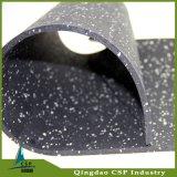 rolo de borracha do revestimento da espessura de 3mm a de 12mm para a aptidão da ginástica