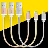 Cabo de dados do USB de Colorfull/micro cabo do USB/cabo cobrando do telemóvel