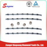 11.0mm 다이아몬드 철사는 대리석 석회석 채석장 돌 절단을%s 보았다