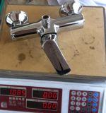 Mélangeur avant simple élégant de douche de traitement de bonne qualité de modèle (ZS80702)