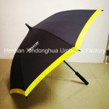 Guarda-chuvas relativos à promoção do hotel automático de Westin da fibra de vidro da qualidade com impressão da borda (SU-0023FAE)