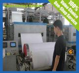 Machine d'enduit de papier blanche et grise de duplex de carton