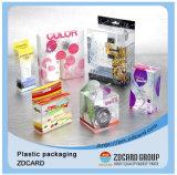 Regalo dei nuovi prodotti che impacca la grande casella di memoria rotonda di plastica libera