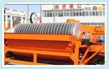 Separador magnético permanente vertical de la serie de la tubería de la serie Rcyg-100 para el cemento/el carbón/el vidrio/alimento/material de construcción/etc. refractario