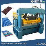 A telhadura de aço lamina a formação da máquina para EUA Stw900