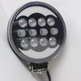 indicatore luminoso bianco rotondo del lavoro degli occhi LED di angelo dell'anello di 60W 9inch