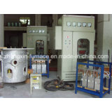 Печь Gw 20-2000kg электрической индукции частоты средства опрокидывать плавя